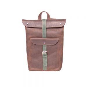 Genuine leather rucksack