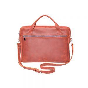 Light brown messenger bag