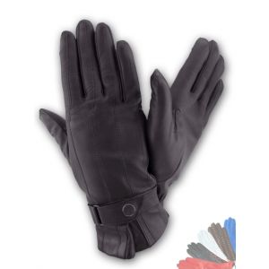 Mens lined leather gloves