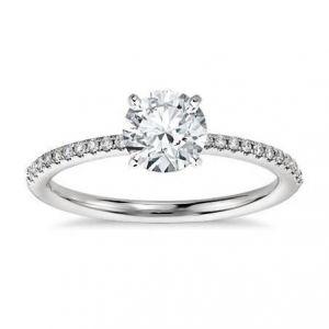 Gold diamond ring for ladies 0.480 carat