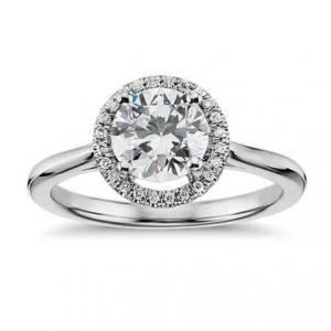 Ladies gold diamond ring 0.460 carat