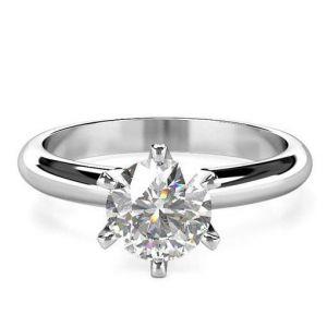 Women's diamond band ring 1 carat