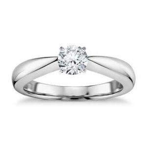 Womens gold diamond ring 1 carat