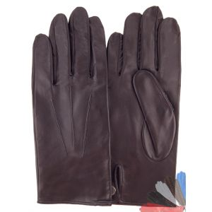 Thin leather gloves