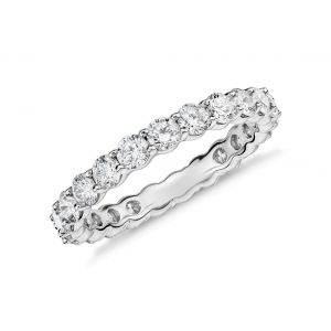 Classic eternity ring for women