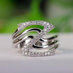 Z letter gold ring