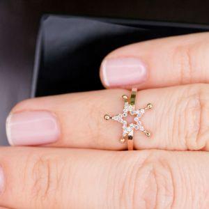 Tiny star phalanx ring