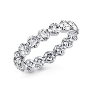 Diamond eternity ring for women