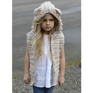 Kids hooded vest