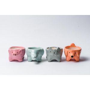 Succulent pots set of 4