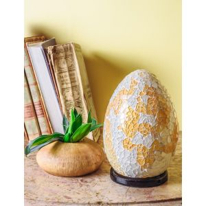 Mosaic egg Lamp