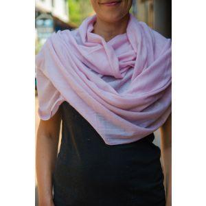 Soft lilac shawl scarf