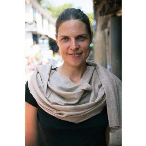 Cappuccino dress shawl