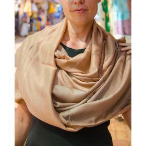 Bronze shawl for evening dress