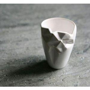 Geometric ceramic glass