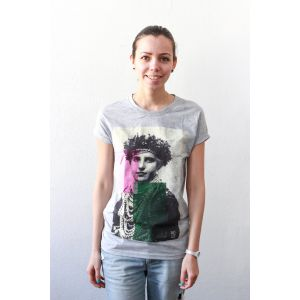 "Woman T-shirt ""Bridesmaid""."