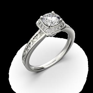Diamond promise ring for women