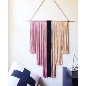 Tapestry yarn wall hanging