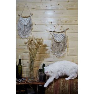 Weaving wall tapestry