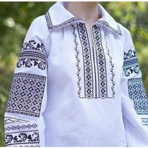 Advanced embroidery designs. Woman blouse