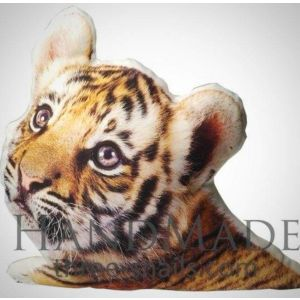 "Animal print pillow ""Baby tiger"""