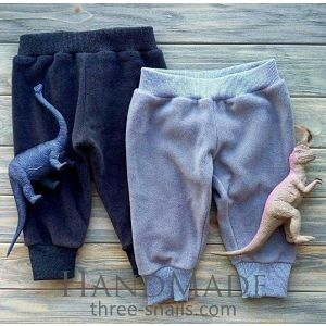 "Baby fleece pants ""Yoga"""