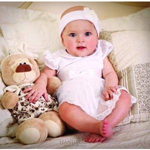 Baby girl baptism dress «Sunny»