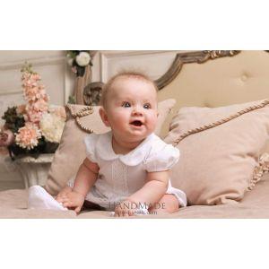 """Baby girl cotton bodysuit """"Stylish day"""""""