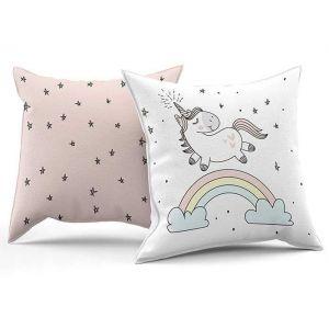 Baby girl room pillow