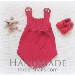 Baby red body outfit