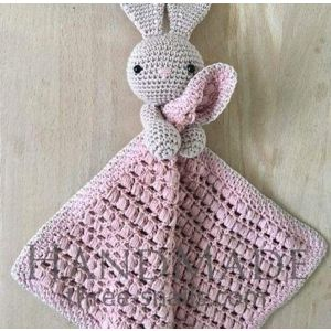 Baby security blanket Bunny