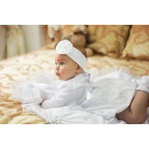 "Baptism dress for baby girl ""Zephyr"""