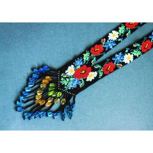 "Beaded gerdan ""Wildflowers"""