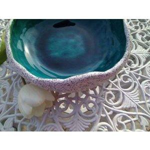 "Blue glazed bowl ""Blue Lagoon"""