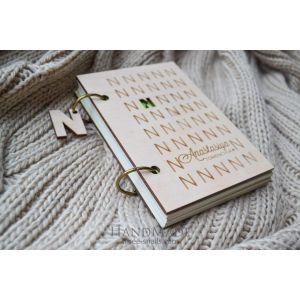 """Book journal """"Initials"""""""