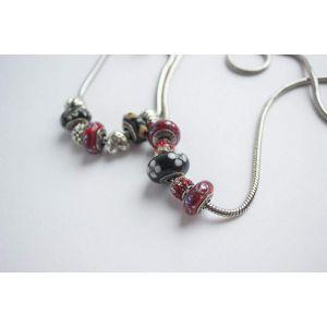 "Bracelet and necklace set ""Passion"""