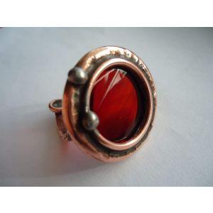 "Cabochon ring ""Cosmic eye"""
