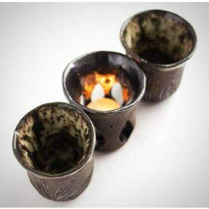 """Candleholder ceramic set """"Secret"""""""
