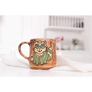 """Ceramic cup""""Cat"""""""