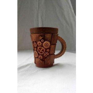 "Ceramic cups""Mechanical art"""