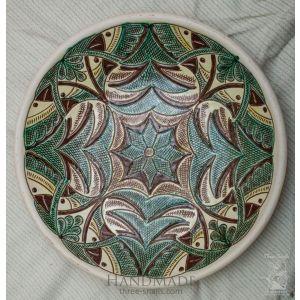 """Ceramic decorative plate """"Birds"""""""