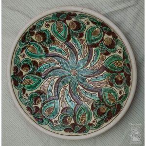 "Ceramic decorative plate ""Cheremosh"""