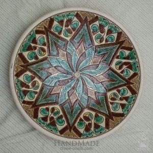 "Ceramic decorative plate ""Dandelion"""