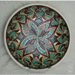 """Ceramic decorative plate """"Narcissus"""""""