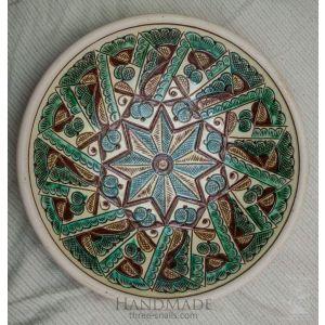 "Ceramic decorative plate ""Star"""