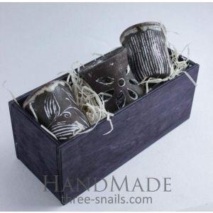 "Ceramic gift set ""Moon Melody"""
