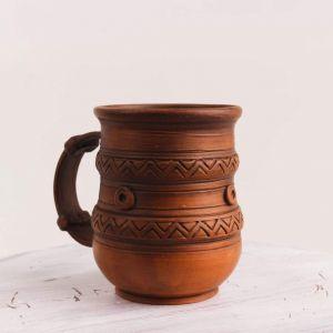 "Ceramic mug ""Grandmother's gift"""