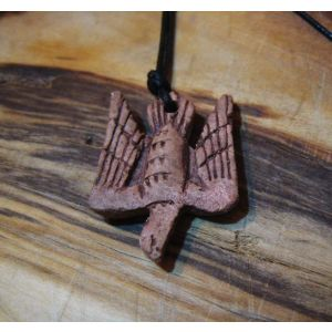 "Ceramic pendant ""Falcon"""