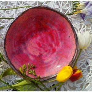 """Ceramic pink bowl """"Pink dream"""""""