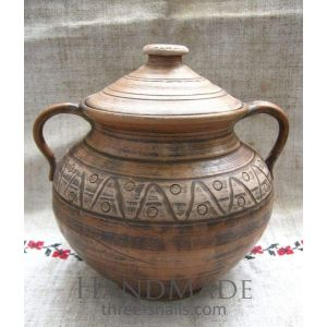 "Ceramic pot cooking  ""Beautiful grove"""